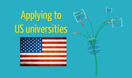Applying to US universities