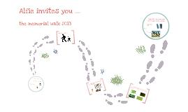 Memorial walk 2013