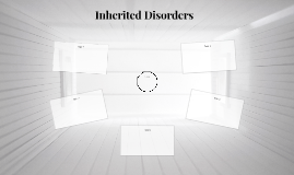Inherited Disorders