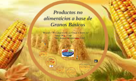 Copy of Productos no alimenticios a base de Granos Básicos
