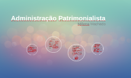 Administração Patrimonialista