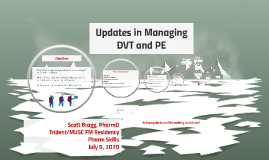 New Updates in Managing DVT and PE