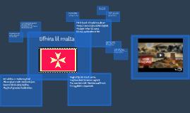 Copy of tifhira lil malta