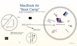 "Copy of MacBook Air ""Boot Camp"" 2013"