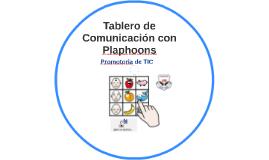 Tablero de Comunicación con Plaphoons