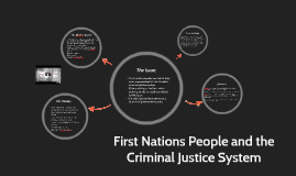 First Nations People and the Criminal Justice System