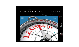 Navigating by your Personal Compass