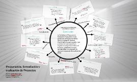 Preparación, formulación y evaluación de Proyectos