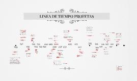 Linea de Tiempo Profetas