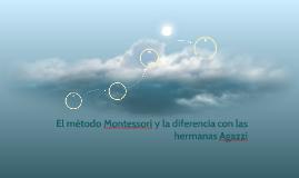 El método Montessori y la diferencia con las hermanas Agazzi