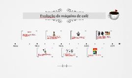Evolução da máquina de café