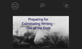 Culm. Writing -- Out of the Dust