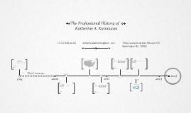 Timeline Prezumé by Katherine Kammann