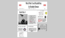 World War II and Disabilities
