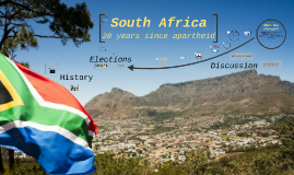 South Africa: 20 years after apartheid