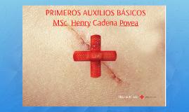 Copy of PRIMEROS AUXILIOS BÁSICOS