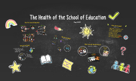 The Health of the School of Education