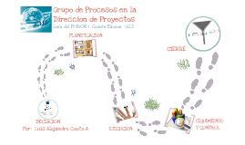 Copy of Copy of Grupo de Procesos en la Direccion de Proyectos