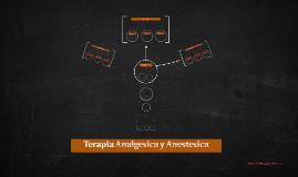 Terapia Analgesica y Anestesica
