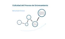 Ciclicidad del proceso de entrenamiento