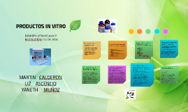 PRODUCTOS IN VITRO