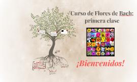 Curso de Flores de Bach, primera clase!!