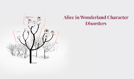 Copy of Alice in Wonderland Character Disorders