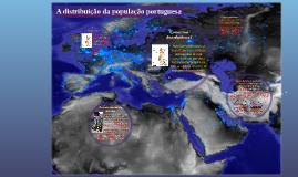 A distribuição da população portuguesa