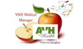 Copy of Medical VRH Manager