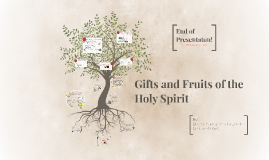 GIfts and Fruits of the Holy Spirit- Grade 8 Religion Presentation