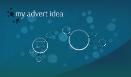 my advert idea