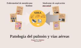 Patología del pulmón y vías aéreas