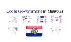 ENRICHMENT - Local Government in Missouri