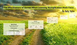 The Effectiveness of Games When Learning Multiplication Math