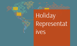 Holiday Representatives