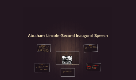 Abraham Lincoln-Second Inaugural Speech