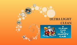Copy of ULTRA LIGHT CLEAN