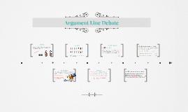 Argument Line Debate