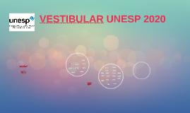 VESTIBULAR UNESP 2017