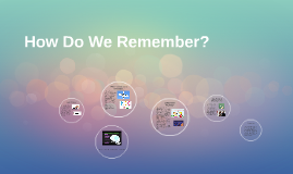 Why Do We Remember?