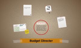 Budget Directer