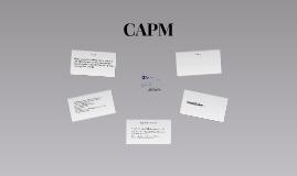 Copy of CAPM