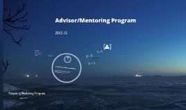 A/A Mentoring Model 2012-13