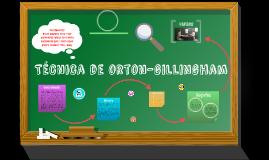 Copy of Técnica de orton gilligham
