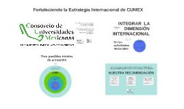 CUMEX Internacionalización