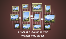 DISABILITY PEOPLE IN THE PARALYMPICS GAMES