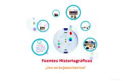 Fuentes Historiográficas del conocimiento en Ciencias Sociales