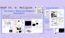 AP Human Geography: Religion (Ch. 6)