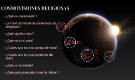 Copy of Cosmovisiones religiosas