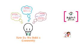 Generating Community
